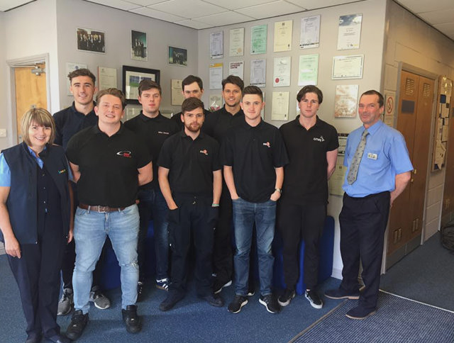 North Glasgow Kelvin College Apprentice Group 1 2016